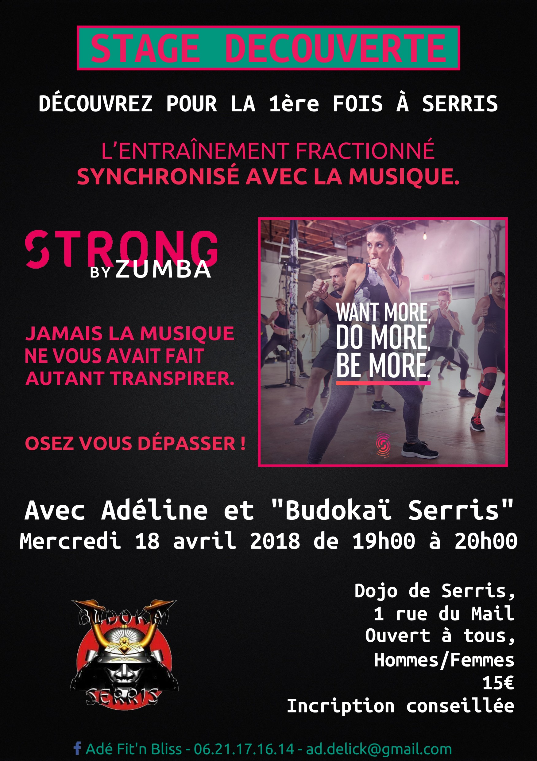 stage strong by zumba